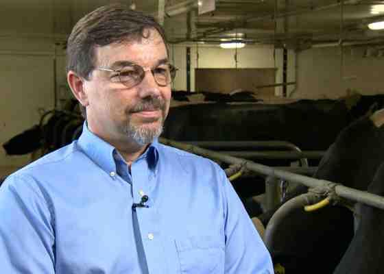 Brian Gould discusses milk prices